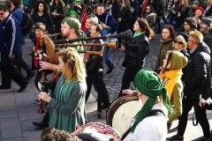 Budapeszt, St. Patrick's Day, Parade
